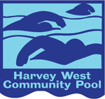 Harvey West Community Pool Logo